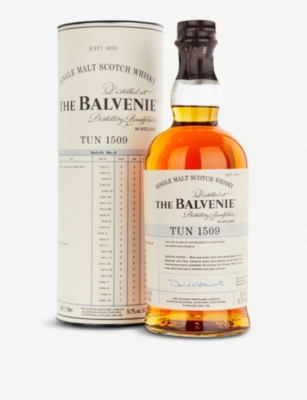 WHISKY AND BOURBON The Balvenie Tun 1509 single malt Scotch whisky 700ml