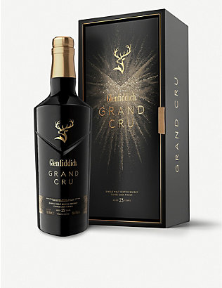WHISKY AND BOURBON: Glenfiddich Grand Cru 23 year old single malt whisky 700ml