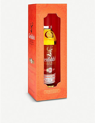 GLENFIDDICH: Single malt Scotch whisky 21 year old 200ml