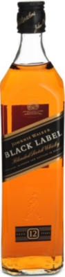 JOHNNIE WALKER Black Label whisky 700ml