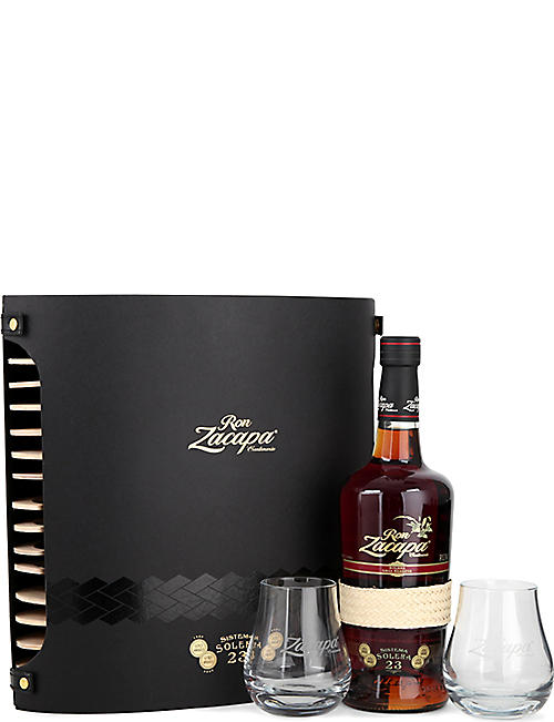 RON ZACAPA Ron Zacapa rum and glass set 700ml
