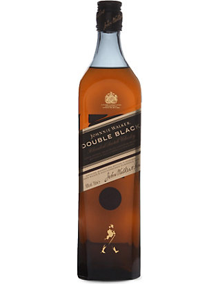 JOHNNIE WALKER: Double Black blended Scotch whisky 700ml