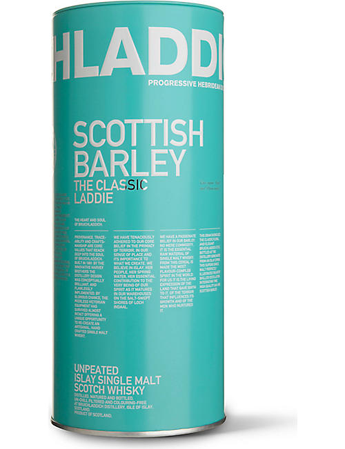 BRUICHLADDICH Scottish Barley single malt whisky 700ml