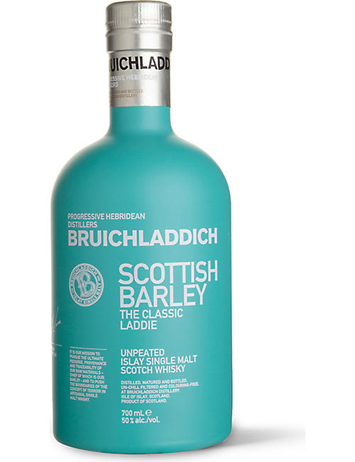 BRUICHLADDICH: Scottish Barley single malt whisky 700ml