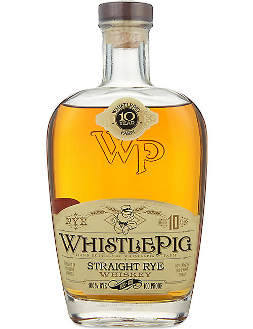 USA: Straight rye whiskey 700ml