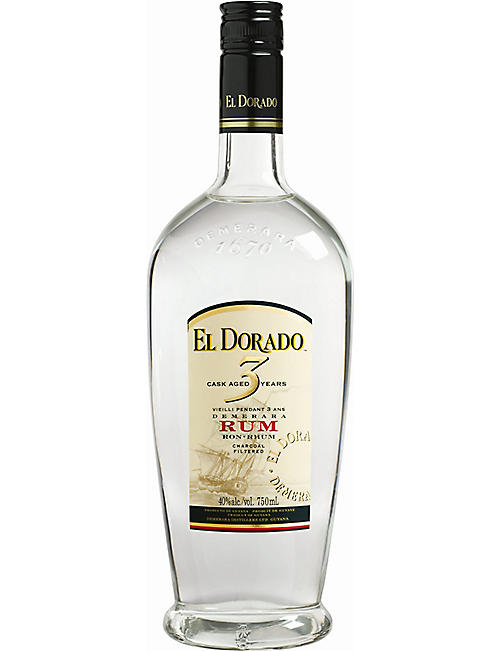 EL DORADO Three Year Old rum 700ml