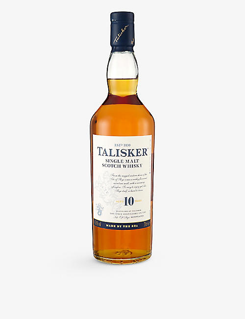 TALISKER: 10-year-old single malt Scotch whisky