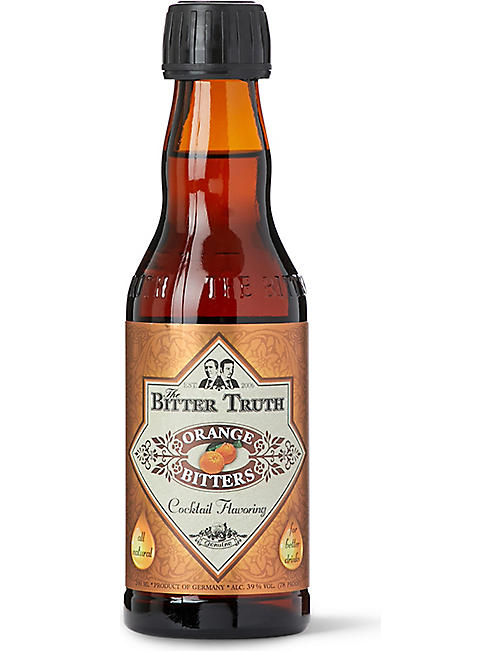 BITTER TRUTH: Orange bitters 200ml