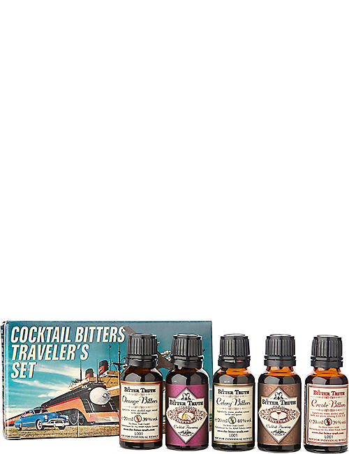 BITTER TRUTH: Bitter Truth traveller set 5 x 20ml