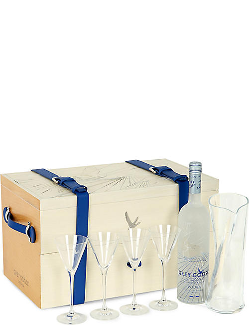 GREY GOOSE Hannah Martin Grand Explorer martini set