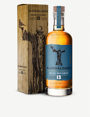 WHISKY AND BOURBON Glendalough Mizunara Finish 13-year-old Irish whiskey 700ml