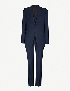 TOM FORD Windsor-fit three-piece wool suit