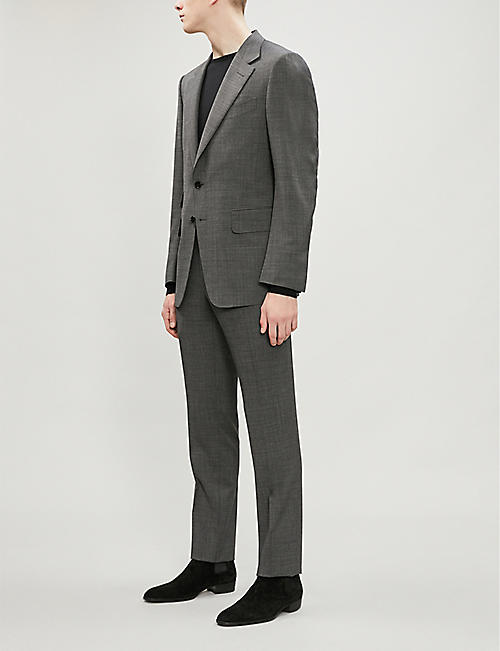 TOM FORD Shelton-fit wool-blend suit