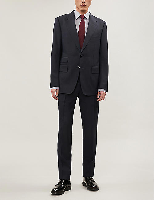TOM FORD Shelton-fit stretch-wool suit