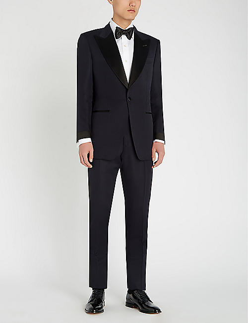 TOM FORD Atticus-fit wool, mohair and silk-blend tuxedo