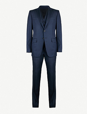 TOM FORD Windsor-fit wool three piece suit
