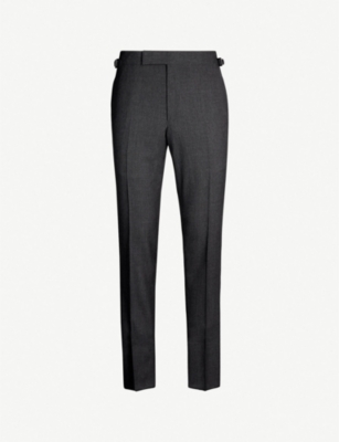 TOM FORD Fresco regular-fit straight wool trousers