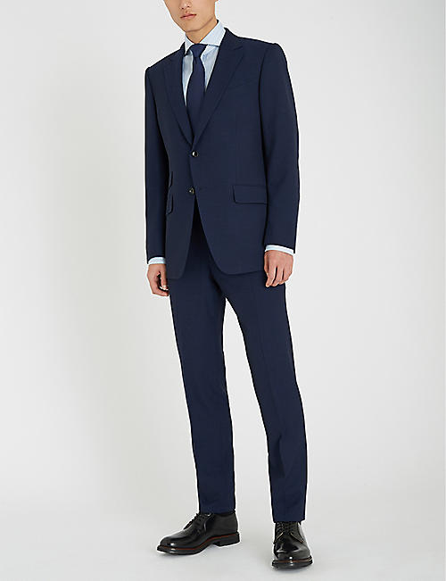 TOM FORD O'Connor-fit Prince of Wales checked wool-blend suit