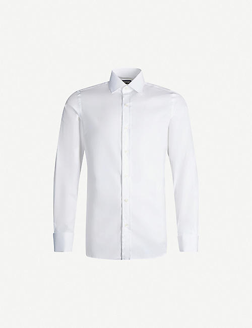 TOM FORD: Regular-fit cotton shirt