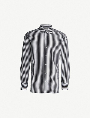 TOM FORD Striped regular-fit cotton shirt