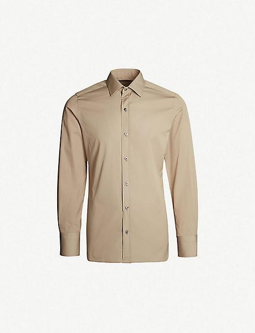 431ec49fdb54f TOM FORD Regular-fit cotton shirt