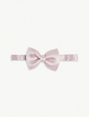TOM FORD Silk bow tie
