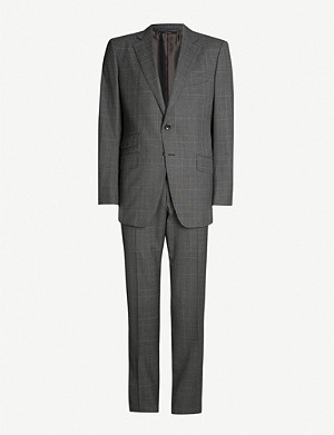 TOM FORD O'Connor-fit checked wool suit