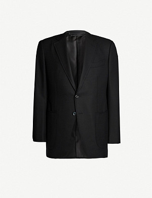 TOM FORD Hopsack O'Connor-fit wool and mohair-blend blazer
