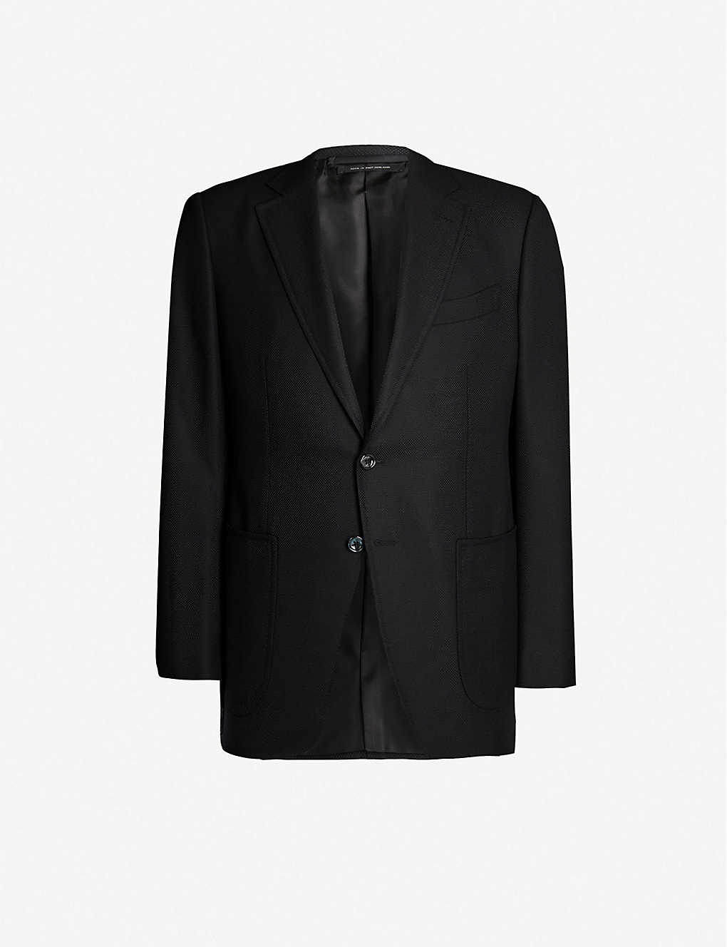 TOM FORD: Hopsack O'Connor-fit wool and mohair-blend blazer