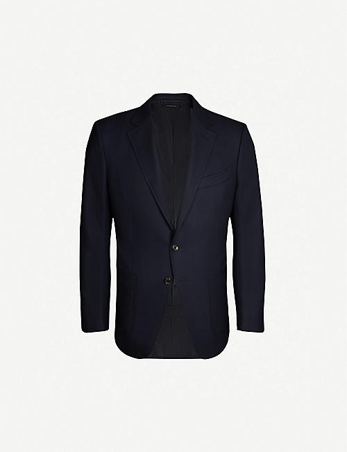 TOM FORD Shelton wool and mohair-blend jacket