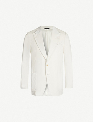 TOM FORD Single-breasted O'Connor-fit corduroy blazer