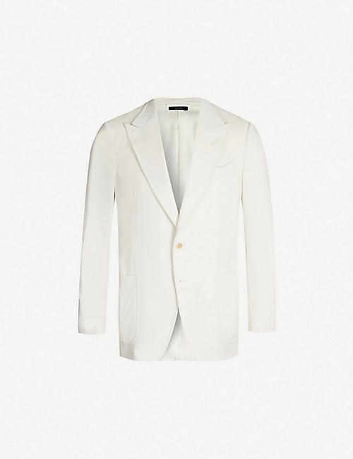 4d9d63088d31 TOM FORD Single-breasted O Connor-fit corduroy blazer