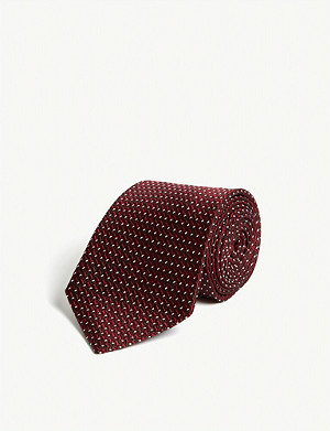 TOM FORD Tonal weave silk-blend tie