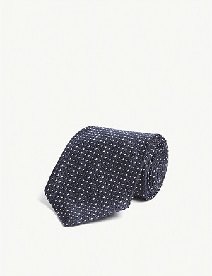 TOM FORD Small dot silk tie