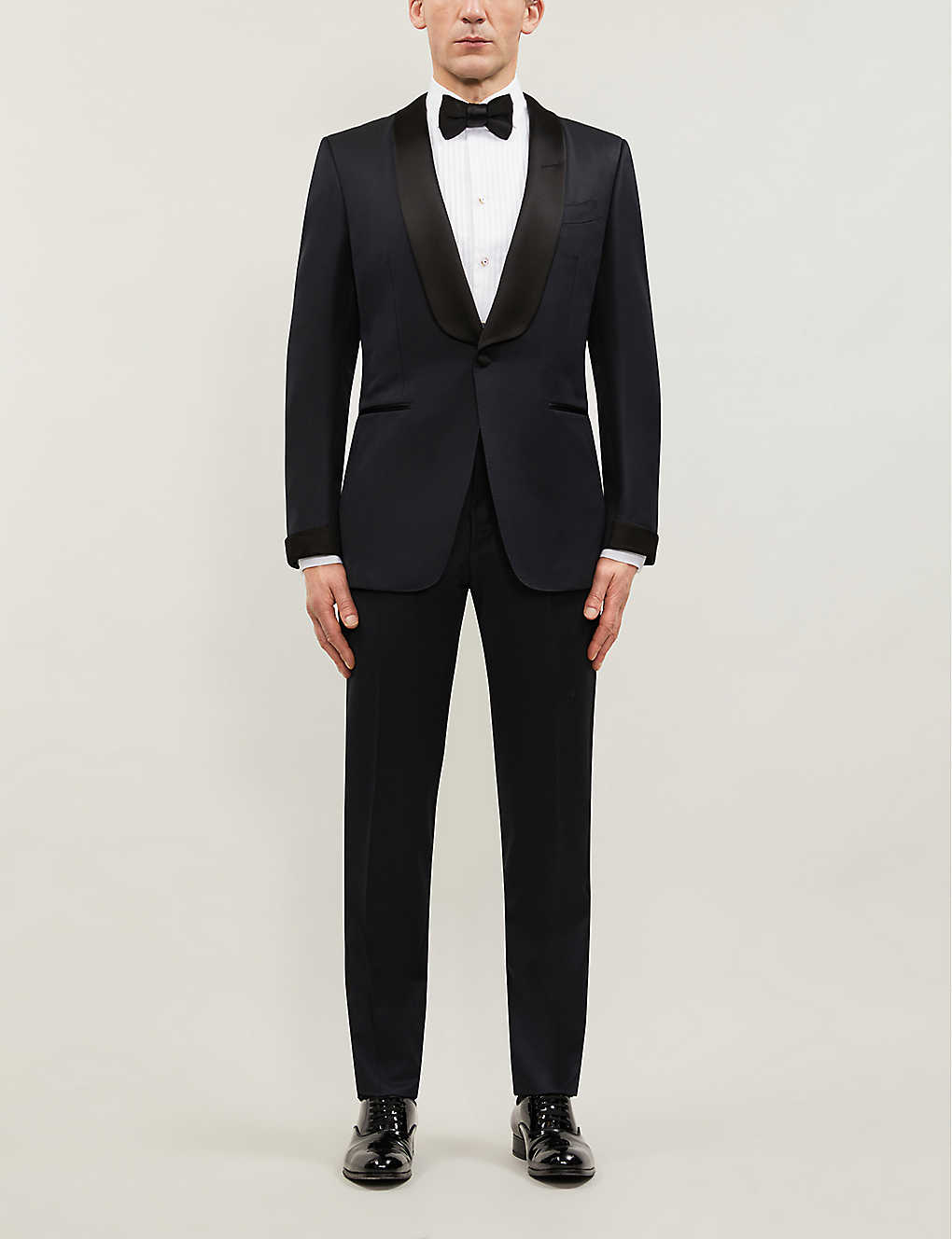 TOM FORD: Windsor-fit wool and mohair-blend tuxedo