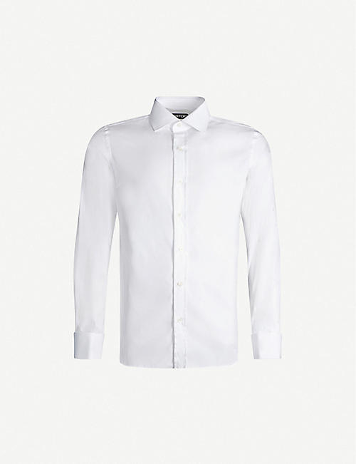 TOM FORD Regular-fit cotton shirt