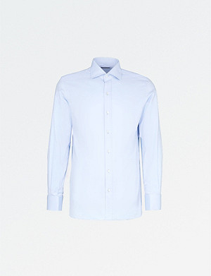 TOM FORD Regular-fit cotton-twill shirt
