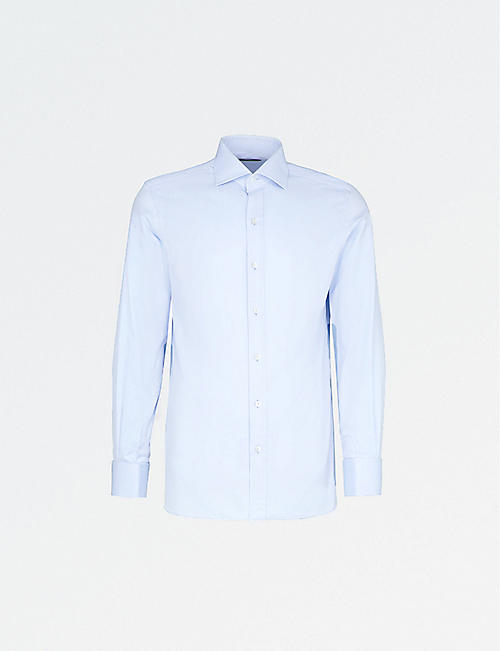 TOM FORD: Regular-fit cotton-twill shirt