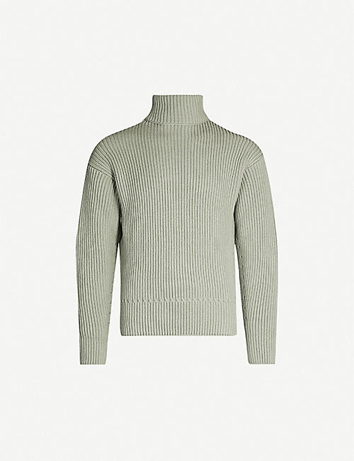 TOM FORD Ribbed turtleneck wool jumper
