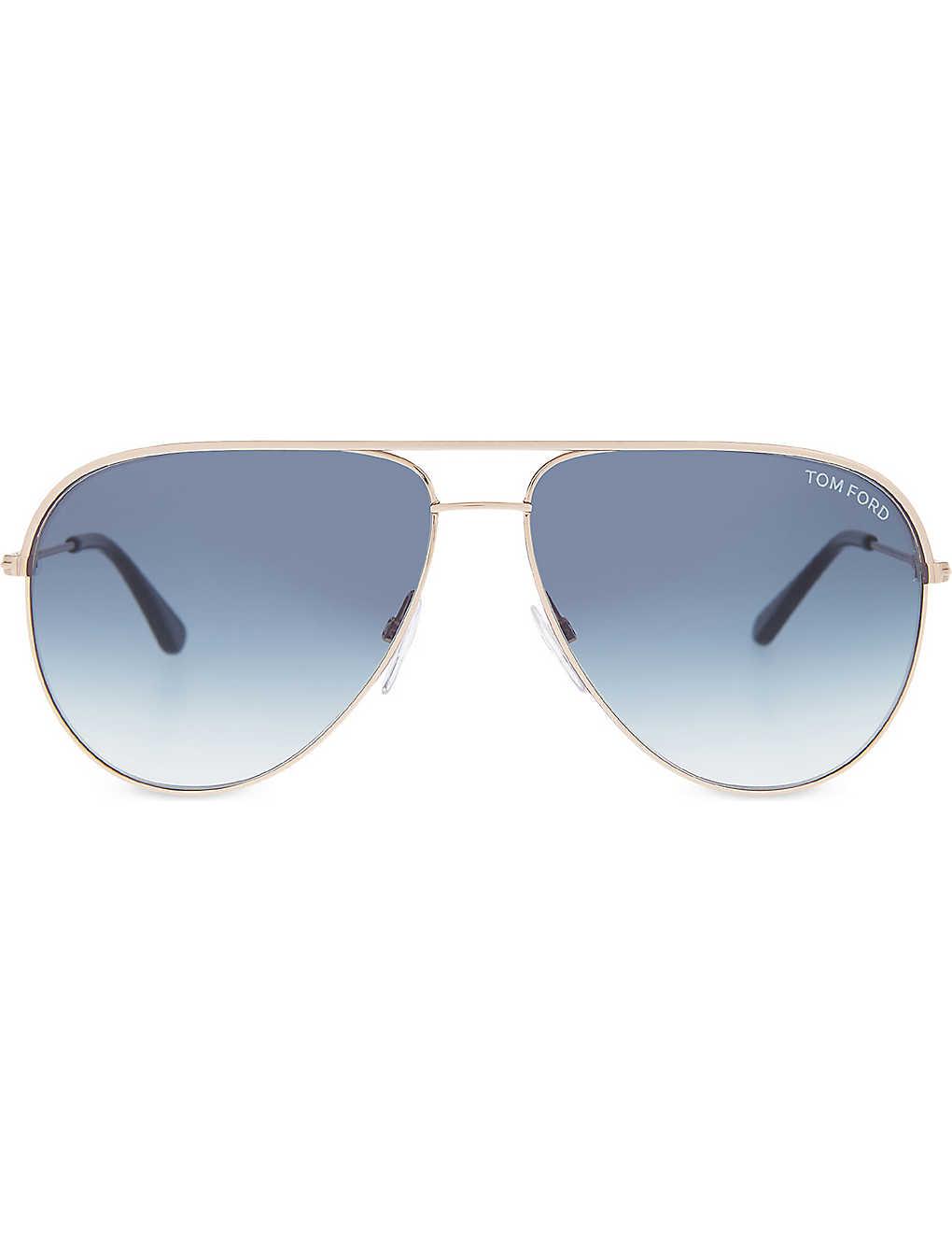 751c127fac302 TOM FORD - Erin TF466 aviator sunglasses