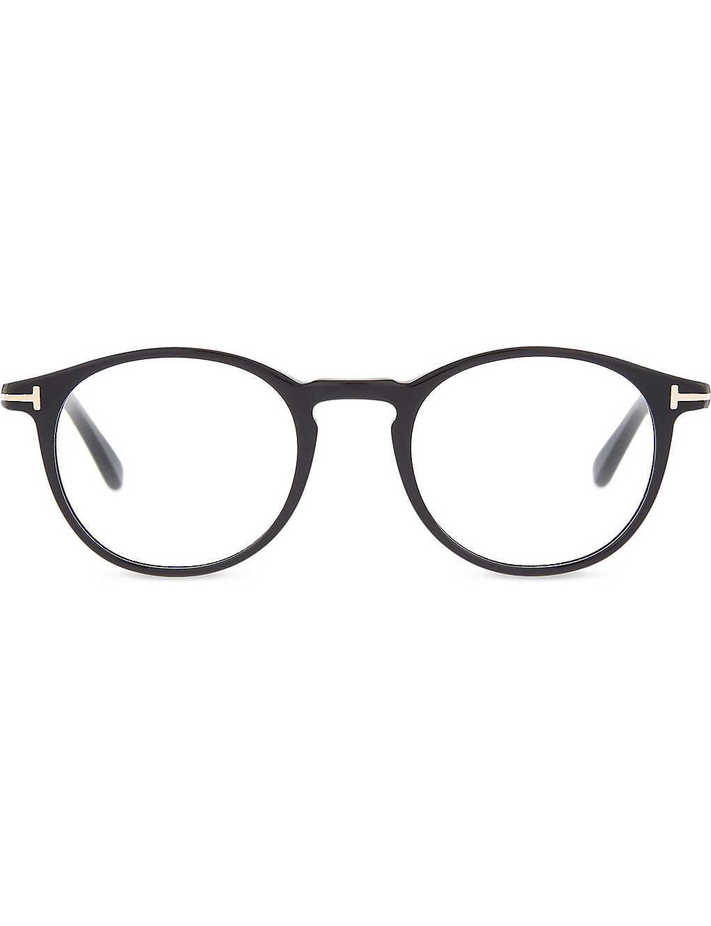 d82f6270dd9e TOM FORD - Tf5294 classic round-frame glasses