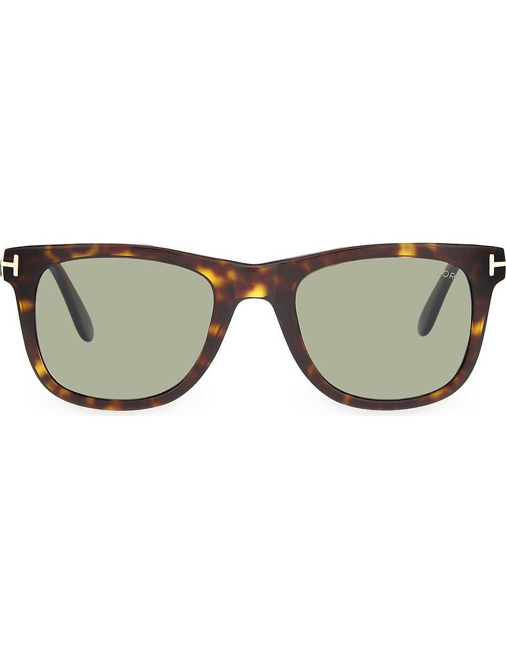 bd75274ac1 TOM FORD - TF336 Leo tortoiseshell square-frame sunglasses ...