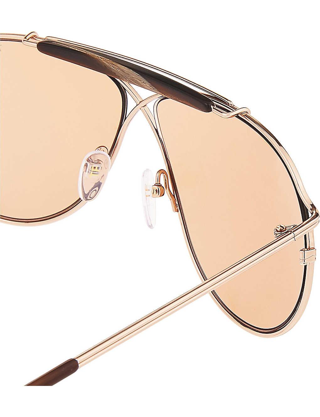 4c4240b8dd8ee TOM FORD - Tom N.6 aviator sunglasses