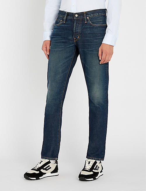 6d823de491a TOM FORD - Slim - Jeans - Clothing - Mens - Selfridges