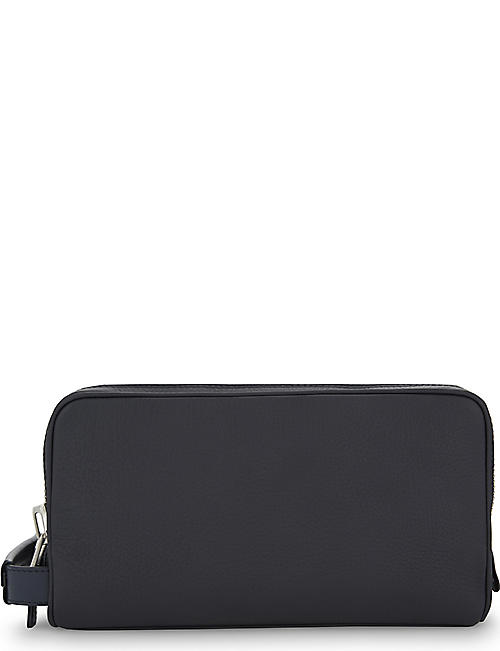 TOM FORD Double zip leather wash bag