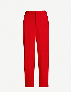 ROLAND MOURET Gibson high-rise wool wide-leg trousers