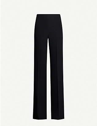ROLAND MOURET: Axton straight stretch-crepe trousers