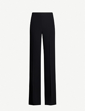 ROLAND MOURET Axton straight stretch-crepe trousers