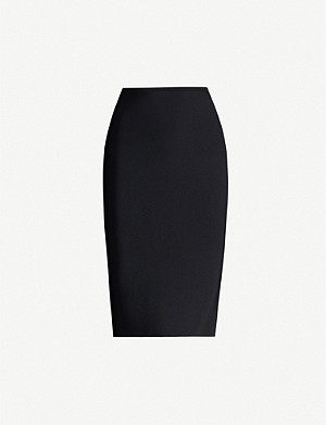 ROLAND MOURET May stretch-crepe skirt