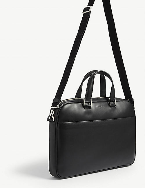 CORNELIANI Leather laptop bag